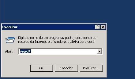 regedit - Desativar a Segurança Reforçada do Internet Explorer por usuário